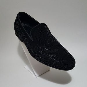 Label Shoes Studded Crystal